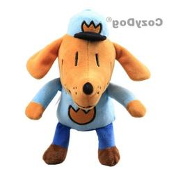 Cartoon Dog Man Plush Toy Stuffed Animal Dogman Figure 10''