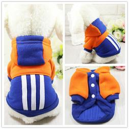 casual clothing for warm winter pets jacket
