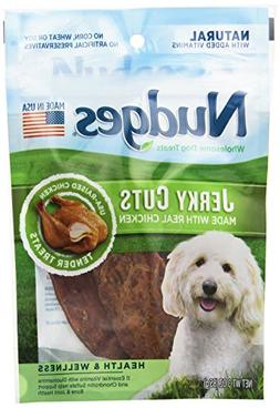 Nudges Chicken Health and Wellness Jerky Dog Treats