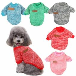 Chihuahua Puppy Sweater Coat Clothes For Small Pet Dog Warm