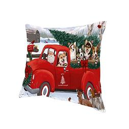 Doggie of the Day Christmas Santa Express Delivery Corgis Do