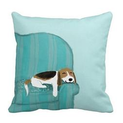 Plbfgfcover Couch Dog Cute Beagle Relaxing Comfortable Pillo