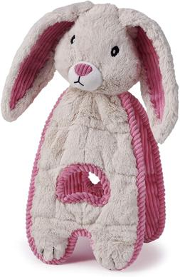 Cuddle Tugs Bunny Plush Dog Toy Durable Interactive Soft Ani