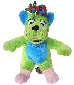 Cuddly Soft 8 inch Stuffed Green Dog...We stuff 'em...you lo