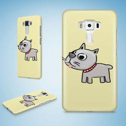 CUTE DOG PUPPY CANINE SKETCH ART HARD CASE PHONE COVER FOR A