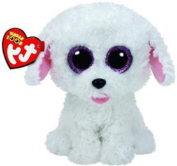 New TY Beanie Boos Cute PIPPIE the White Bichon Dog Plush To
