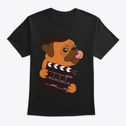 Cute Pug Director For Dog Lover Hanes Tagless Tee T-Shirt