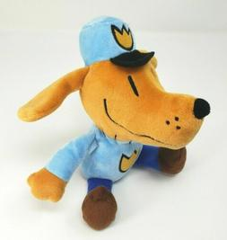 "Dav Pilkey's 9.5"" Dog Man Toy Figures Puppy Stuffed Plush"