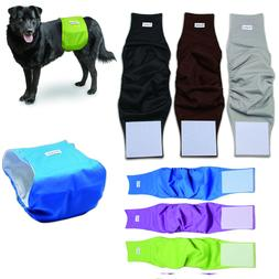 Dog Diapers Reusable Washable Belly Band Waterproof For Male