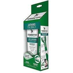 Vet's Best Dog Enzymatic Toothpaste and Toothbrush Plaque an