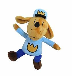 MerryMakers Dog Man Plush Toy, 9.5-Inch