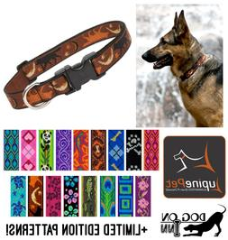 """Lupine Dog/Puppy Collar. 1"""" wide, for med to XL dogs. Lifeti"""