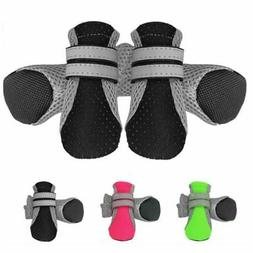 Dog Shoes Boots Reflective No Slip Dog Booties Socks for Sma