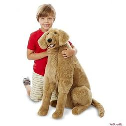 Dog Stuffed Animals For Kids Giant Golden Retriever Lifelike