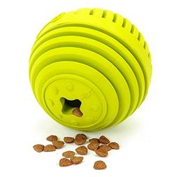 GrayCell Dog Treat Drain Snack Food Ball Interactive IQ Dog