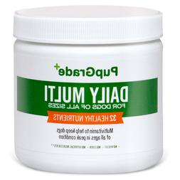 PupGrade Dog Vitamins - Best Daily Multi Vitamin for Dogs, P