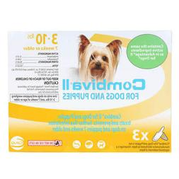 Combiva II for Dogs & Puppies 3-10lbs    same ingredients as