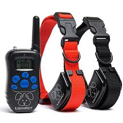 Tornaqui Dogs Shock Collar Training Anti-Bark Collar With Re