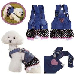 dresses for dogs canine pet skirt clothes