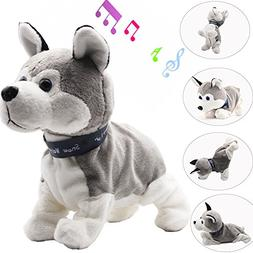 Electronic Toys Dog,Interactive Toy Walking Movement Pet Lov