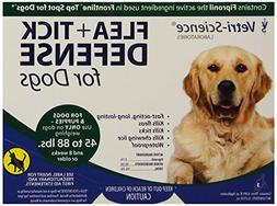 VetriScience Laboratories Flea + Tick Defense for 45 to 88-P