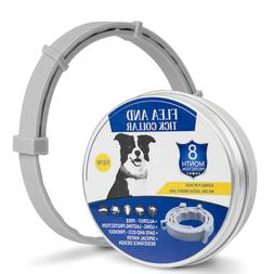 Flea and Tick Collar for Dogs With Adjustable Waterproof 8 M
