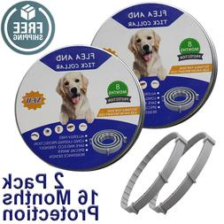 Flea &Tick Collar for Large Dog Over 18 lbs 8 Month Protecti