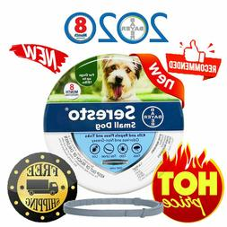 Seresto Flea and Tick Collar for Small Dog, Up to 18lbs 7-8