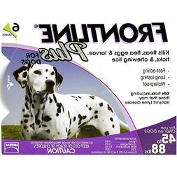 Frontline 6 Month Plus Purple for Dogs 4588 lbs