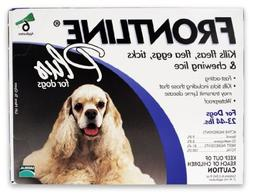 Merial Frontline Plus Flea and Tick Control for Dogs, 23 to