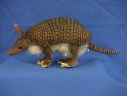 """Giant Armadillo Toy Reproduction by Hansa, 10"""" long"""