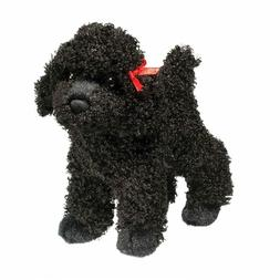 "Douglas Gigi BLACK POODLE 8"" Plush Dog Stuffed Animal Cuddle"
