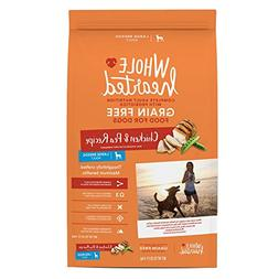 WholeHearted Grain Free Large Breed Adult Chicken and Pea Re