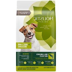 Holistic Select Natural Grain Free Dry Dog Food, Small & Min