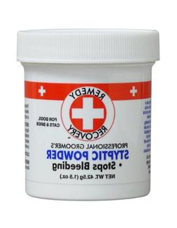 Remedy and Recovery Professional Groomer's Styptic Powder fo