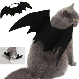 Halloween Pet Cat Costume Bat Wings Costumes Pet Apparel for
