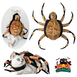 Halloween Pet Cat Dog Spider Costume Cool Cosplay Clothes fo