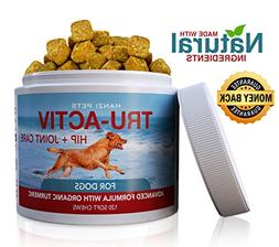Hanzi Pets All Natural Hip & Joint Care Dogs   Improves Mobi