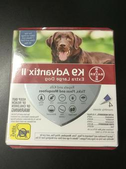 K9 Advantix II for Dogs - Blue - over 55lbs - 4pk