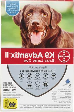 K9 Advantix II for Extra Large Dogs Over 55 lbs - 6 Pack - F