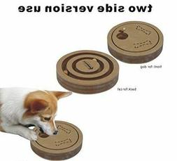 Interactive Fun IQ Puzzle for Dogs + Cats and Pets Food Trea