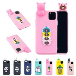 For iPhone 11 Pro Max 2019 Cute Rubber Pattern Rubber TPU Sh