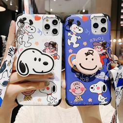 For Iphone 11 Pro Max X Xs Xr  7 Plus Phone Case Cover Carto