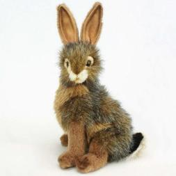 """Jack Rabbit Toy Reproduction by Hansa, 9"""" tall"""
