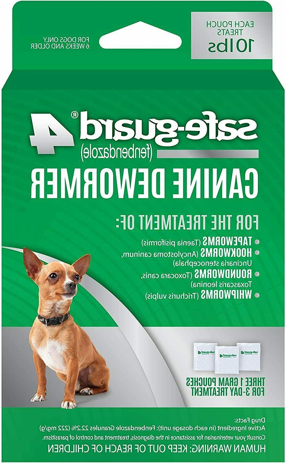 1 safe guard canine dewormer