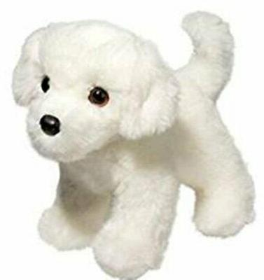 10 Inch Bailey Bichon Frise Dog Plush Stuffed Animal by Doug