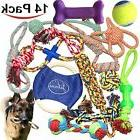 14 Pack Chew Dog Rope Toy Assortment Gift Set for Small Medi