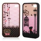 2017 New Cute Lovely Hard Cover Skin Case For iPhone 4 4S Sc