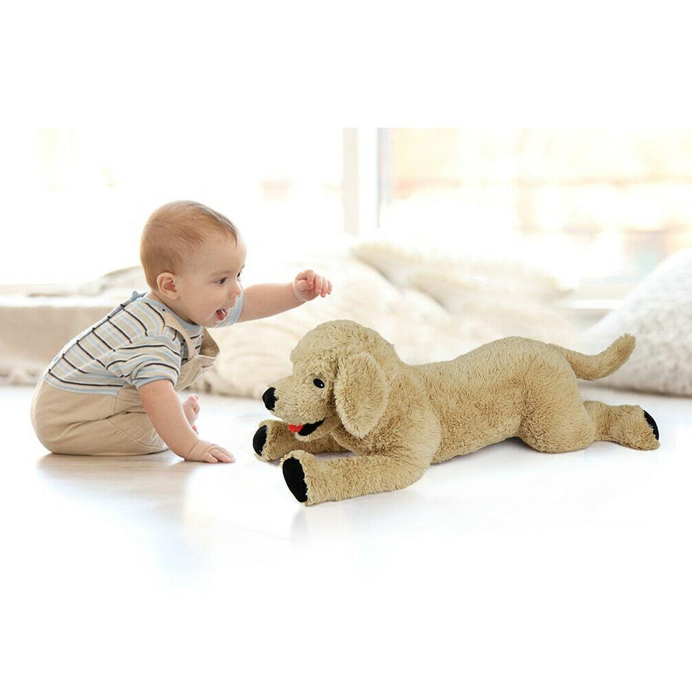 """27"""" Large Stuffed Plush Soft Puppy Dog Toy Doll 27 In"""
