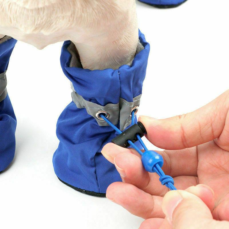 4Pcs Pet Boots Waterproof for Small Puppy